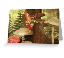 Fairy in The Forest Greeting Card