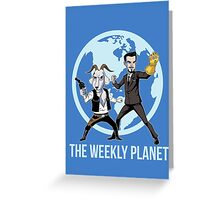The Weekly Planet Greeting Card