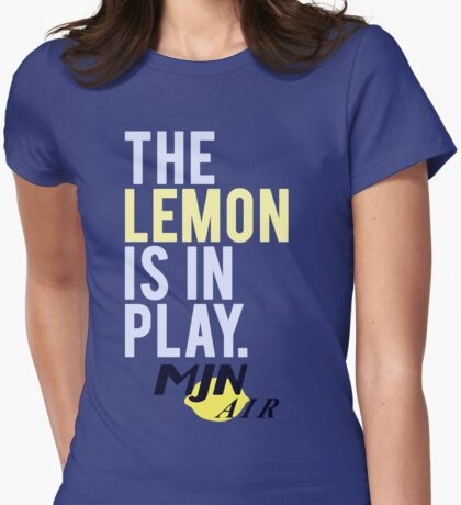 The Travelling Lemon Womens Fitted T-Shirt