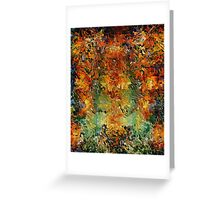 Old wall by rafi talby Greeting Card