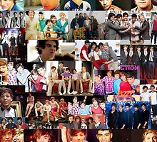One Direction Collage by gleviosa