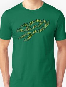 30 Mountains Decoratively Squished Onto My Chest Unisex T-Shirt