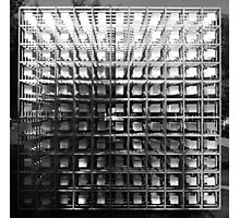 The Cube of Squares. Yahoo! Campus, Sunnyvale, California Photographic Print