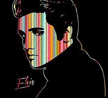 Elvis Presley - Spectrum - Pop Art by wcsmack