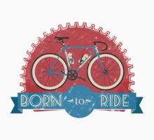 Born To Ride One Piece - Short Sleeve