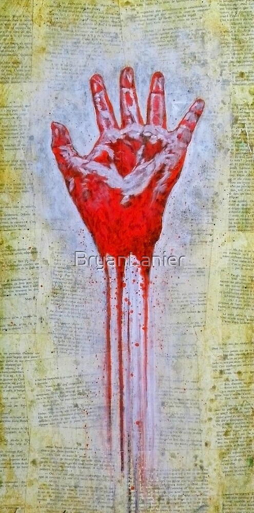 """Red Hand"" by BryanLanier"