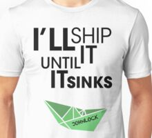 Ship Johnlock Unisex T-Shirt