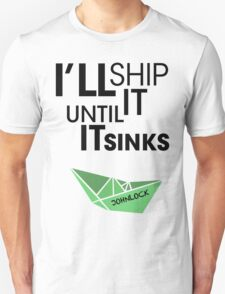 Ship Johnlock T-Shirt