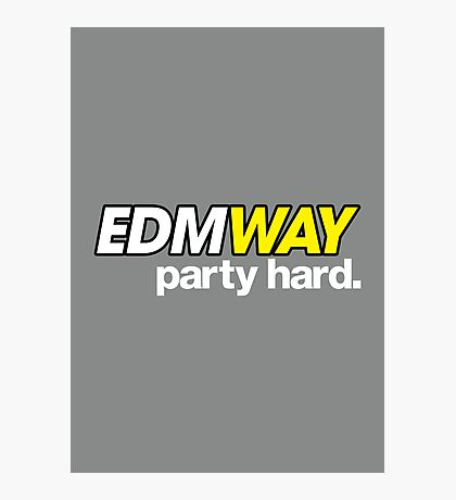 EDMWAY  Photographic Print