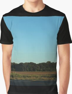 Sky and Clouds with Trees Graphic T-Shirt
