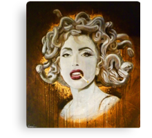 """Pop Medusa"" Canvas Print"
