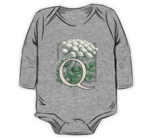 Q is for Queen Anne's Lace  One Piece - Long Sleeve