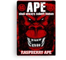 Raspberry Ape v2.0 Canvas Print