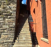 The Exorcist Stairs by Jess Anderson