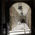 Portico of Light and Shadows by Carol Bailey White