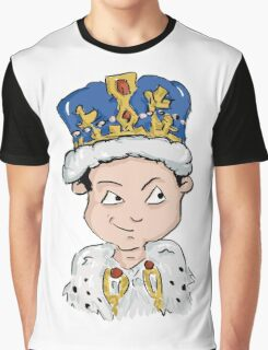 Sherlock Moriarty Andrew Scott Cartoon Graphic T-Shirt