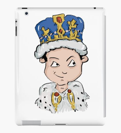 Sherlock Moriarty Andrew Scott Cartoon iPad Case/Skin
