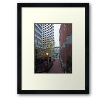Pieces of Perth (7) Framed Print
