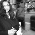 Woman in London by Pawel J