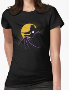 The Terror that Flaps in the Night Womens Fitted T-Shirt