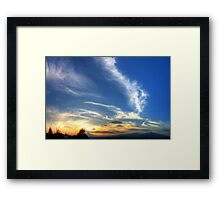 ©HCS Power Of Clouds Framed Print