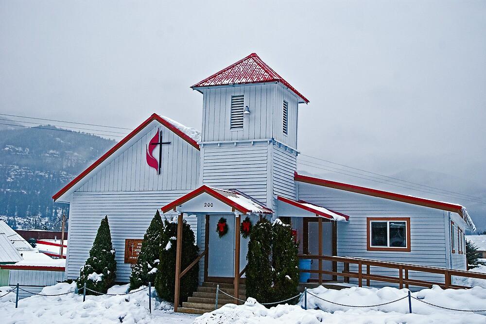 The Noxon (Montana) United Methodist Church by Bryan D. Spellman
