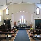 A Bright & Shining Anglican Church, 'Kuranda.' Nth. Queensland. by Rita Blom