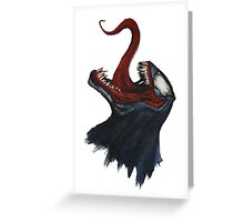 Venom 2 Greeting Card
