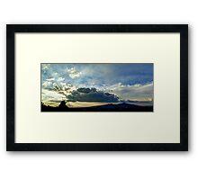 ©HCS Battlestar Cloud Framed Print