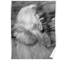 Smoking in London Poster