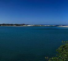 Currumbin Creek Panorama by Noel Elliot