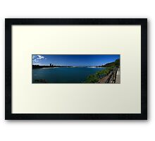 Currumbin Creek Panorama Framed Print