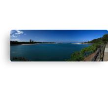 Currumbin Creek Panorama Canvas Print
