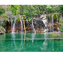 Hanging Lake View 1 Photographic Print