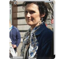 Passing by in London iPad Case/Skin