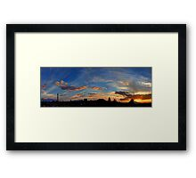 ©HCS Ten Clouds After Framed Print
