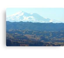 """ Mount Ruapehu , New Zealand "" Canvas Print"