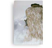 I Fell Out of Bed Canvas Print