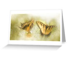 Mystic Morning Dream Drapery Greeting Card
