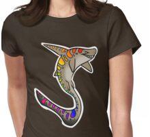 Leopard Shark Womens Fitted T-Shirt