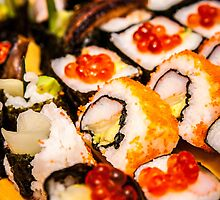 Homemade Sushi Goodness by EdwardKay