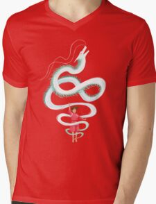 Spirit of the Kohaku River Mens V-Neck T-Shirt