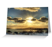 Yarmouth Bar Sunburst Greeting Card