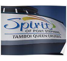 MV Spirit of Port Stephens Poster