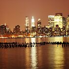 New York City at Night by BrianFitePhoto
