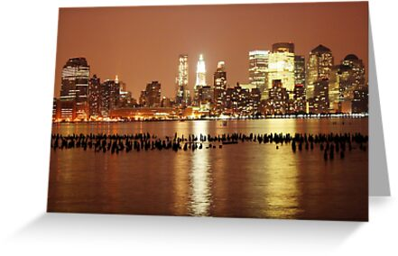 New York City at Night by BrianFitePhoto