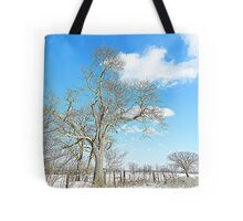 January Blue Tote Bag
