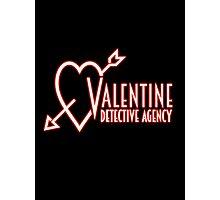 Valentine Detective Agency Photographic Print