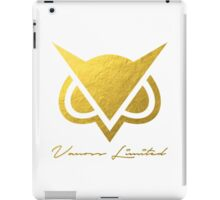 Vanoss Limited Edition Gold Foil Logo Replica - Transparent Variation  |  The FIRST and BEST Vanoss design on Redbubble! iPad Case/Skin