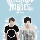 Dan & Phil - Blue by polkadotpotato